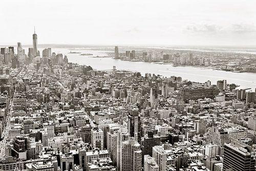 New York in sepia