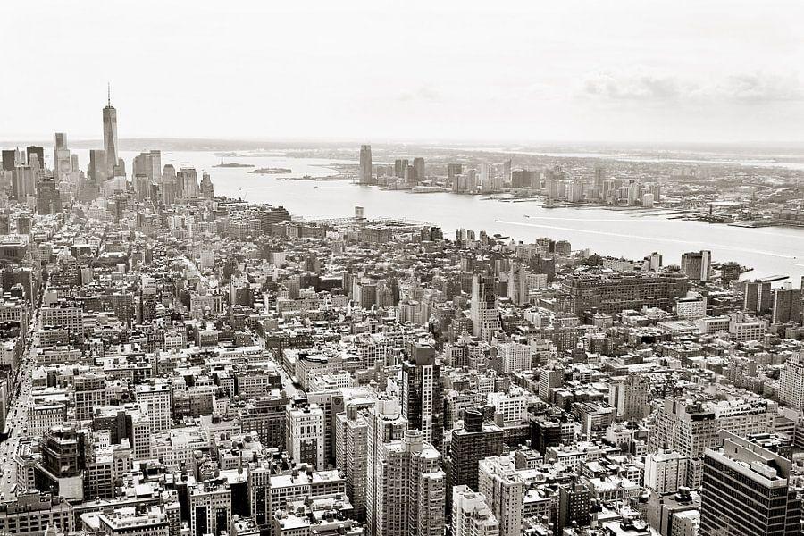 New York in sepia van Teuni's Dreams of Reality