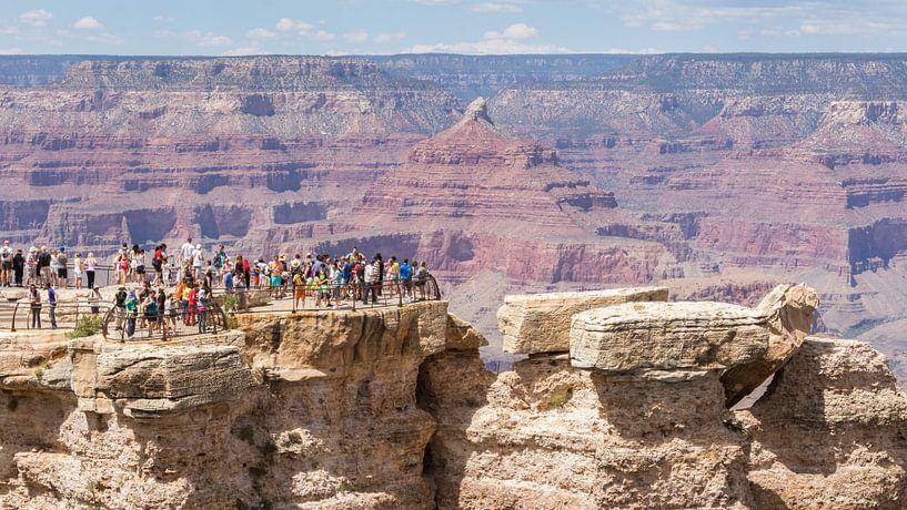 Uitzichtpunt Grand Canyon van Hilda Weges