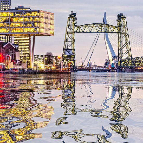 Réflexion de l'eau De Hef Rotterdam