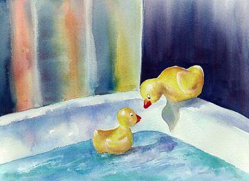 Badeenten van Jitka Krause