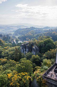 Schöne Landschaft in der Tschechischen Republik, Böhmisches Paradies von Bianca Kramer