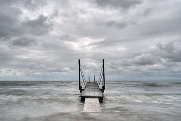 Aan het IJsselmeer.... van Peter Korevaar