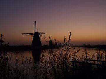 Windmill  Kinderdijk 2 von Marjon van Vuuren