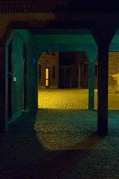 Antwerpen - Geel licht van Maurice Weststrate