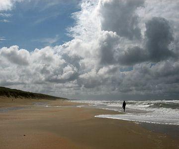 Uitwaaien aan de Nederlandse kust van Loraine van der Sande