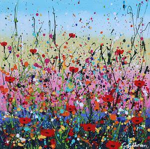 Kleurrijke bloementuin van Gulserin Gokcan