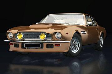 Aston Martin Vantage 1977 vue trois quarts