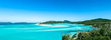 weißer Himmelstrand, Australien von Dave Verstappen