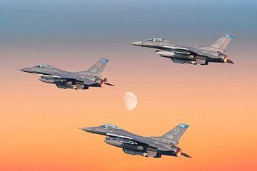 F-16 Fighting Falcon USA sur