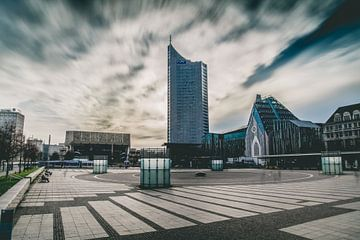 Augustplatz Leipzig van Sebastian Schimmel