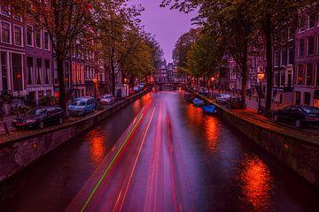 Amsterdam Gracht  van Angel Flores