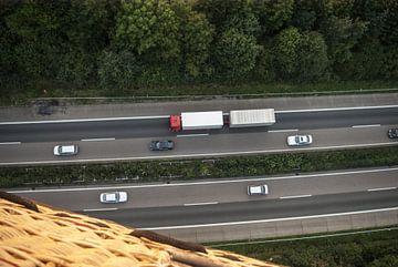 De snelweg BAB 1 van Norbert Sülzner