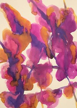 Wysteria Mysteria von Helia Tayebi Art
