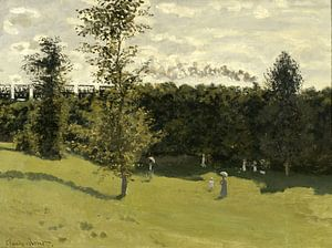 Claude Monet. Train dans la campagne