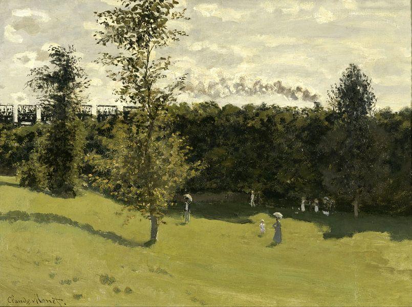Claude Monet. Train dans la campagne van 1000 Schilderijen
