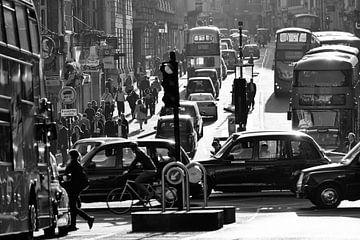 Londen - Spitsuur van David Bleeker