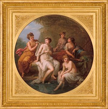 Diana und ihre Nymphen beim Baden, Angelika Kauffmann