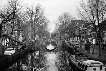 Canal Amsterdam van Dick Veldhuisen