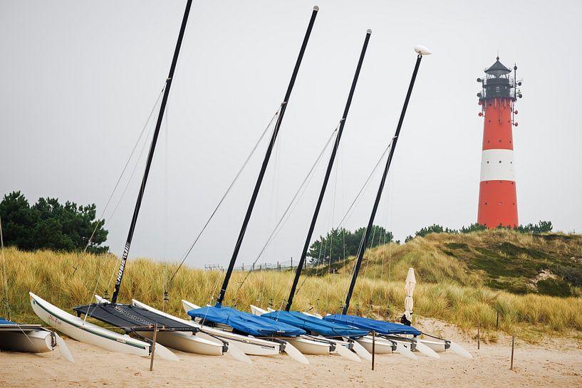 Sylt Island - Hörnum Lighthouse van Alexander Voss