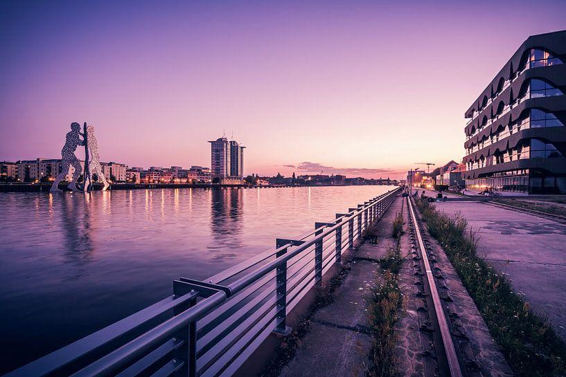 Berlin – Mediaspree / Osthafen van Alexander Voss