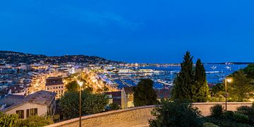 Cannes sur la Côte d'Azur en France sur Werner Dieterich