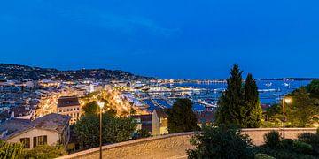 Cannes an der Côte d'Azur in Frankreich sur