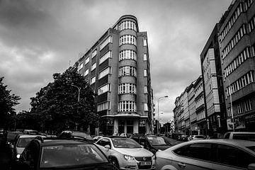 Kreuzung in Prag von Julian Buijzen