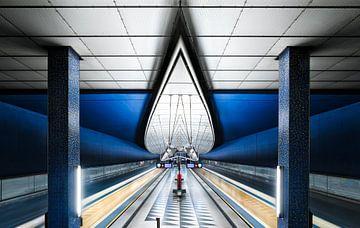 Blue Subway sur Martijn Kort