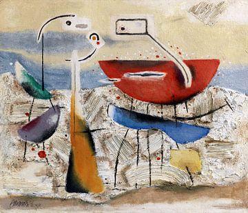 Metaphysische Landschaft, WILLI BAUMEISTER, 1948