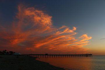 Pier Venice Beach Florida van Christiane Schulze