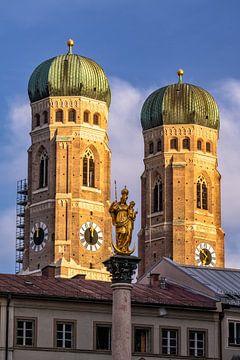 Kerk van Onze-Lieve-Vrouw-München van Achim Thomae