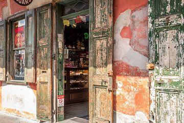 Historische winkel sur Mrs van Aalst