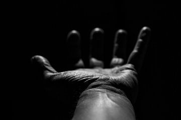 Abstracte hand in low-key von byFeelingz