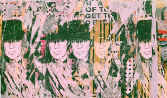 Udo Lindenberg Generation - Urban Collage van Felix von Altersheim