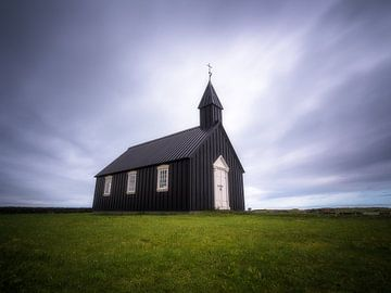 Kleine schwarze Kirche von Roelof Nijholt