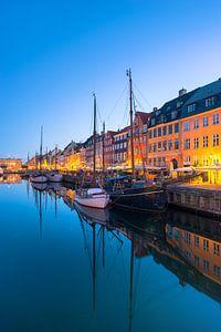 Nyhavn Kopenhagen, Morgendämmerung