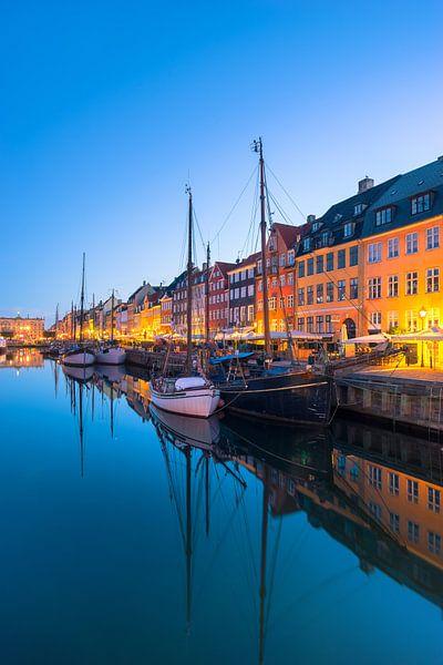 Nyhavn Kopenhagen, Morgendämmerung von Tom Uhlenberg