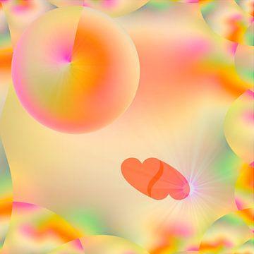 Auf rosa Wolken ... van Harry Ucksche