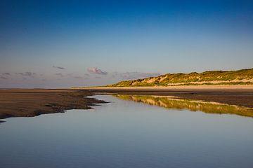 Reflet rangée de dunes Plage de la mer du Nord Vlieland I