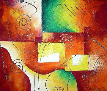 Cubo van Marcella Mandis