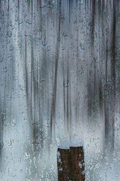 Snow and raindrops van Michael Nägele