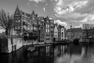 Ansicht von Delfshaven II von Bert-Jan de Wagenaar