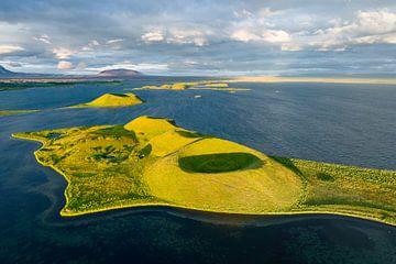 Myvatn Volcanic Lake, Iceland