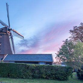 De stommeermolen in Aalsmeer. van Erik de Rijk