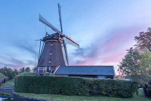De stommeermolen in Aalsmeer. van