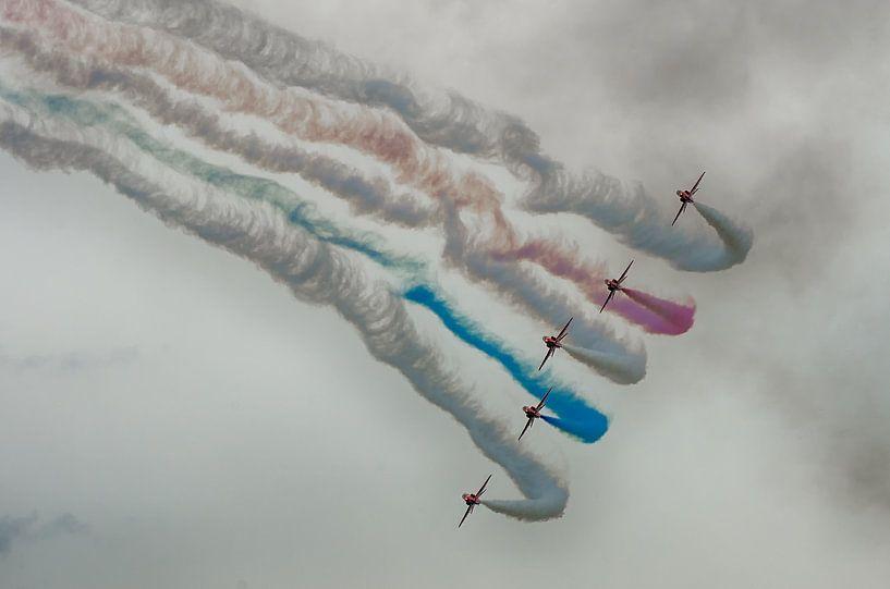 Red Arrow straaljagers van Mark Bolijn