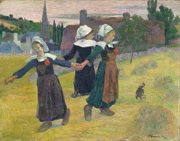 Bretonse Dansen, Pont-Aven, Paul Gauguin van