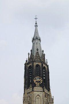 Turm der Nieuw Kerk Delft von Sanne van der Plaat