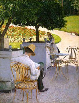 Die Orangenbäume, Gustave Caillebotte